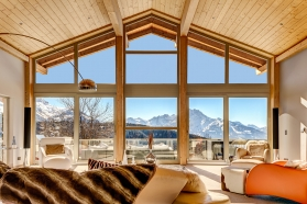 Chalet Le Renne D'Or - Villars to rent luxury contemporary chalet