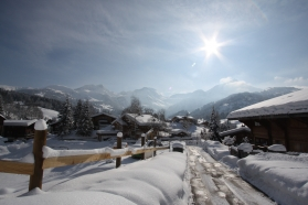 Gstaad new alpine chalets
