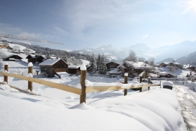 Gstaad new alpine chalets: