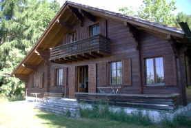 Villars chalet on large plot near Aiglon International college